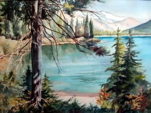 Mountain Lake Afternoon