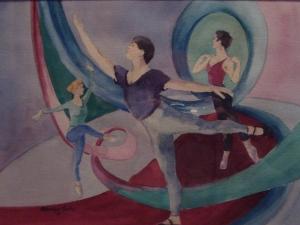 Ontario Ballet Theatre Practicing