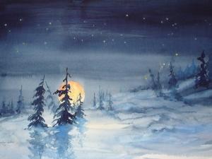 Winter Moon Rising